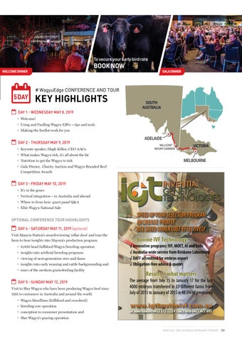Page 39 of WagyuEdge: Building Integrity 2019 in Adelaide highlights