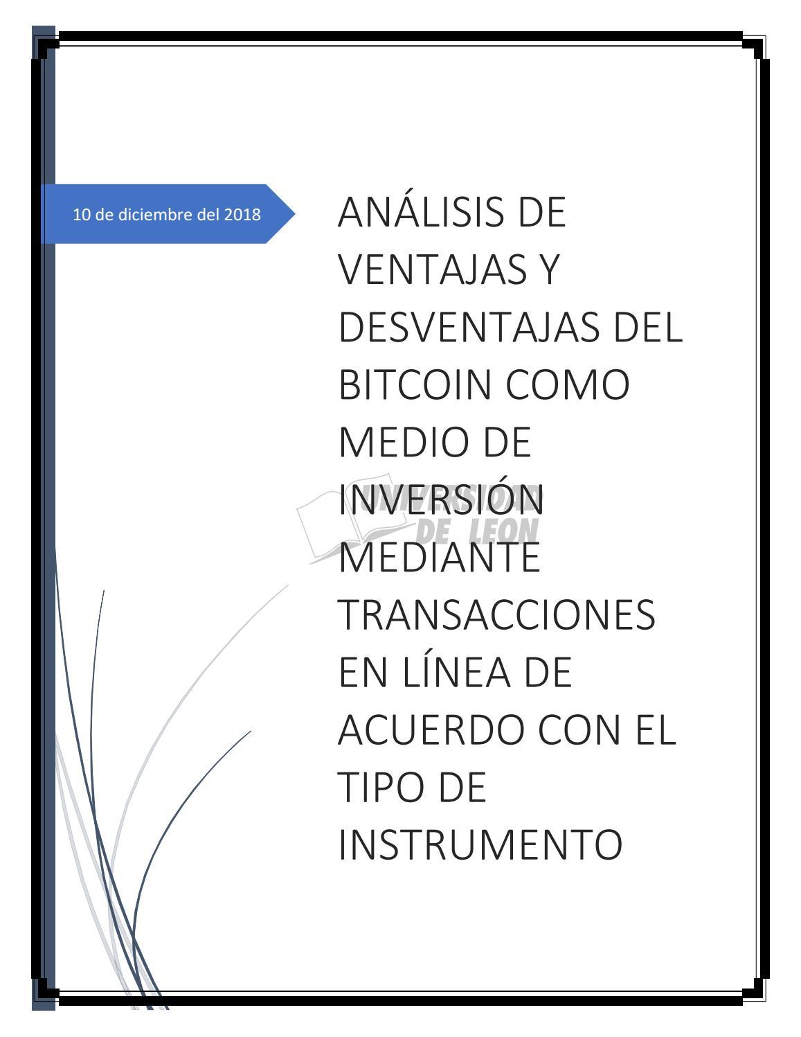 nuevas criptomonedas 2021 ventajas y desventajas de la inversión en bitcoins
