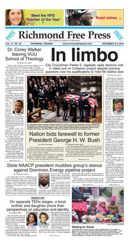 Richmond Free Press December 6-8, 2018 Edition by Richmond Free