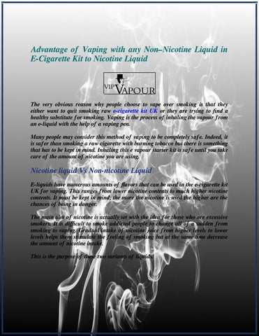 Vipvapour - Leading Supplier of E-Liquid Products in the UK