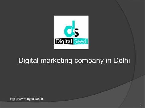 f93543dad Digital marketing company in Delhi | Best online marketing agency in Delhi  | Digitalseed