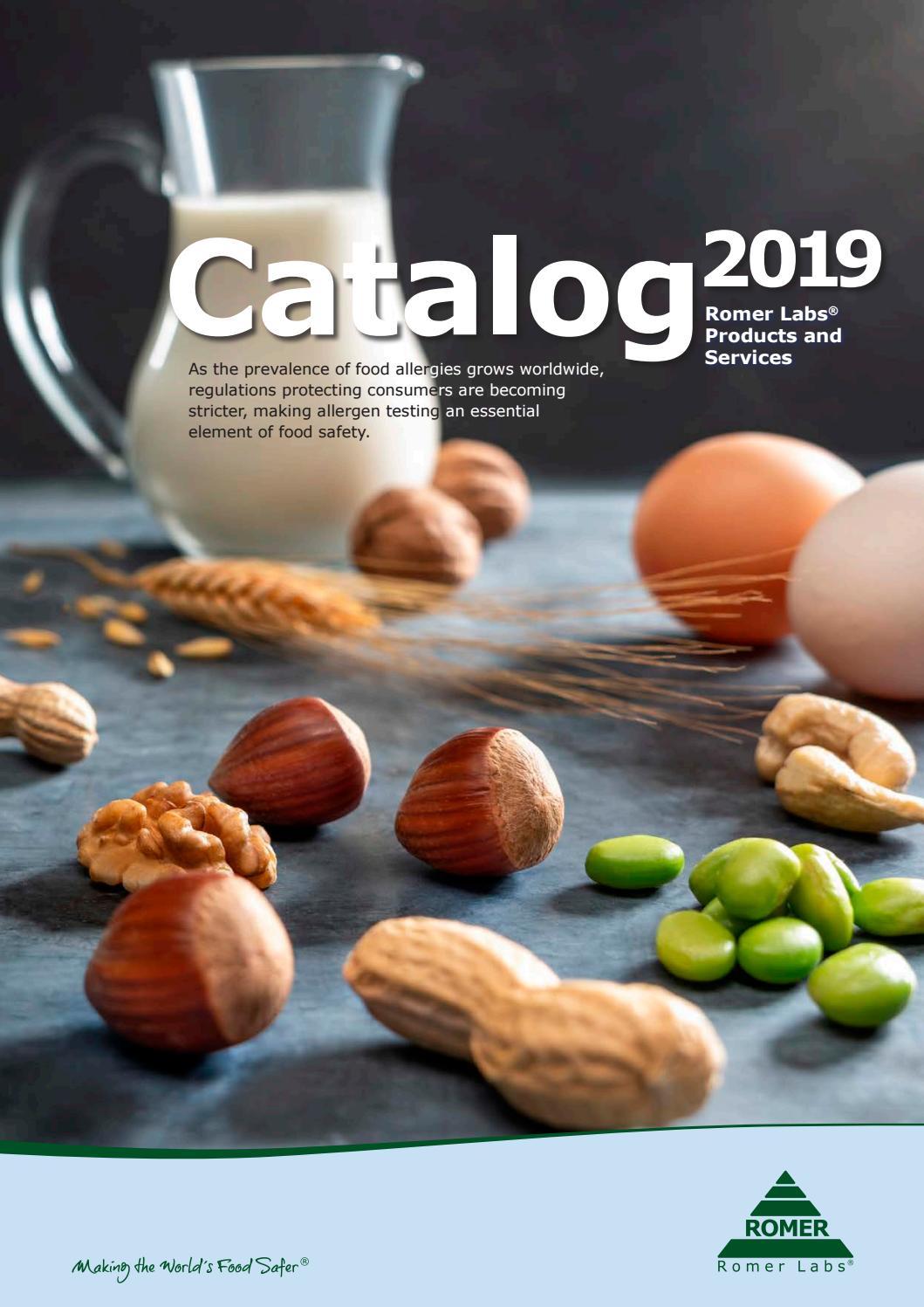 Romer Labs Catalog 2019 by romerlabs - issuu