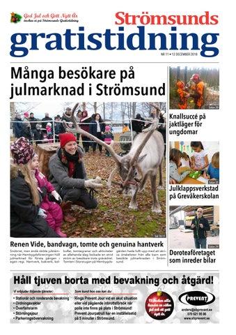 3da089c1b35 Strömsunds Gratistidning nr 11 2018 by Jämtlands Tidningar - issuu