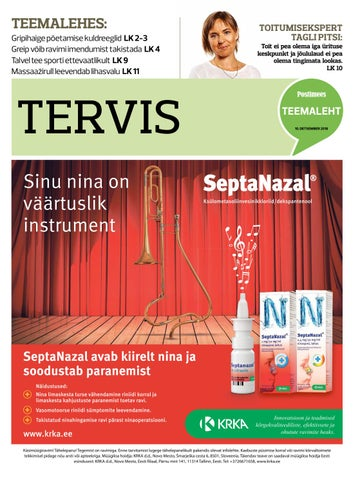 dd4598568d6 Tervis 10. detsember 2018 by Postimees - issuu