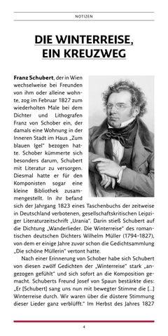 Page 4 of Schuberts Winterreise