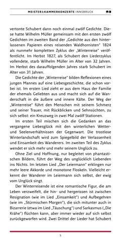 Page 5 of Schuberts Winterreise
