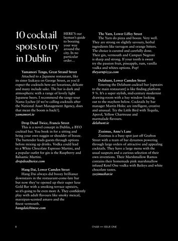 Page 16 of CHAR: 10 cocktail spots to try in Dublin
