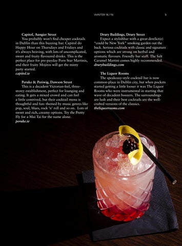 Page 17 of CHAR: 10 cocktail spots to try in Dublin