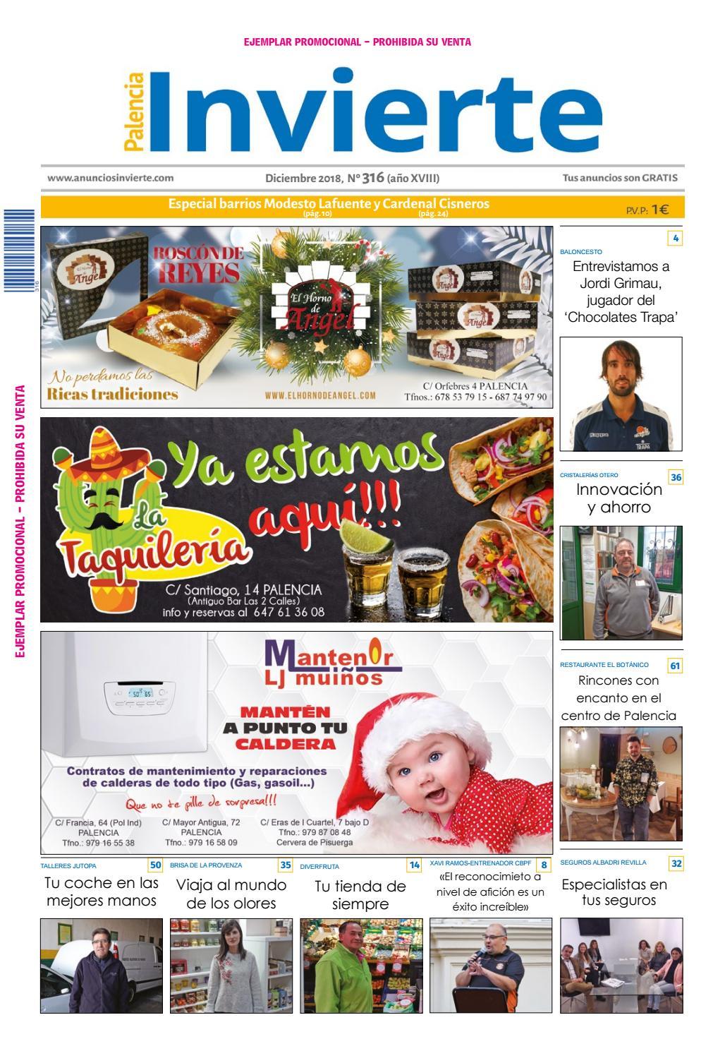 c6adff622b 316 Diciembre 2018 by Periódicos Invierte Palencia - issuu