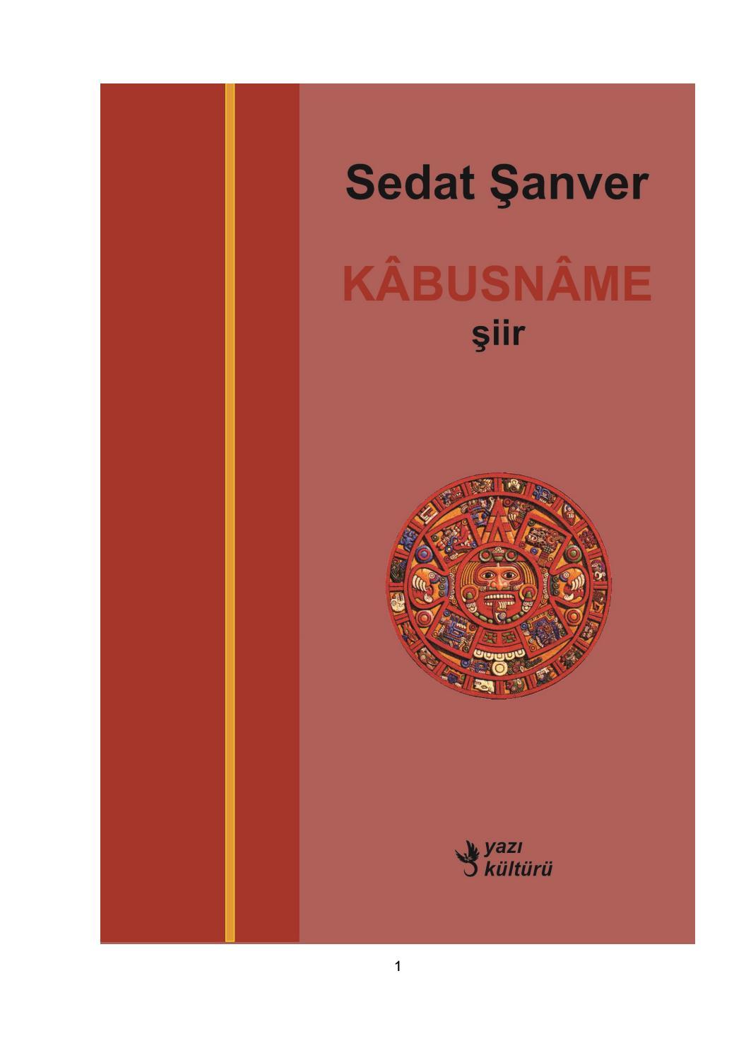 6793f9aff0002 Kâbusnâme, Sedat Şanver, Şiir by yazi kulturu - issuu
