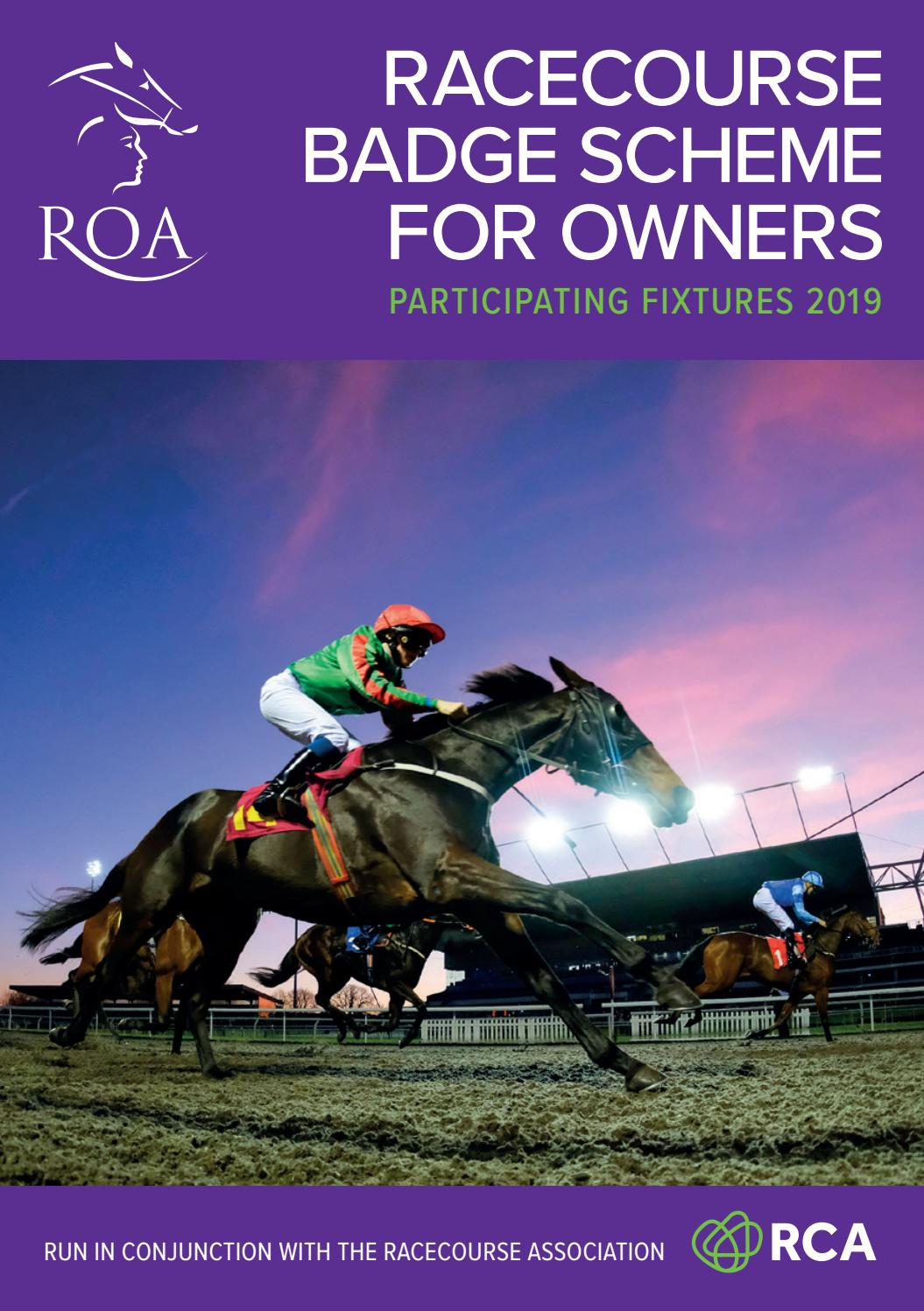 2 x General Admission Tickets Kempton Park Afternoon Flat Racing 20th August 19