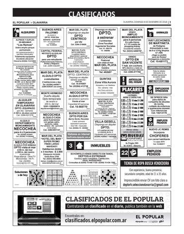 Clasificados del día 09 12 2018 by diarioelpopular - issuu 65d981a2e08