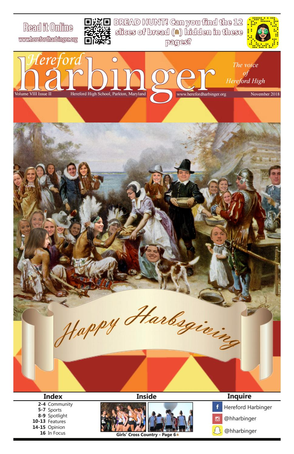 November 2018 by Hereford Harbinger - issuu