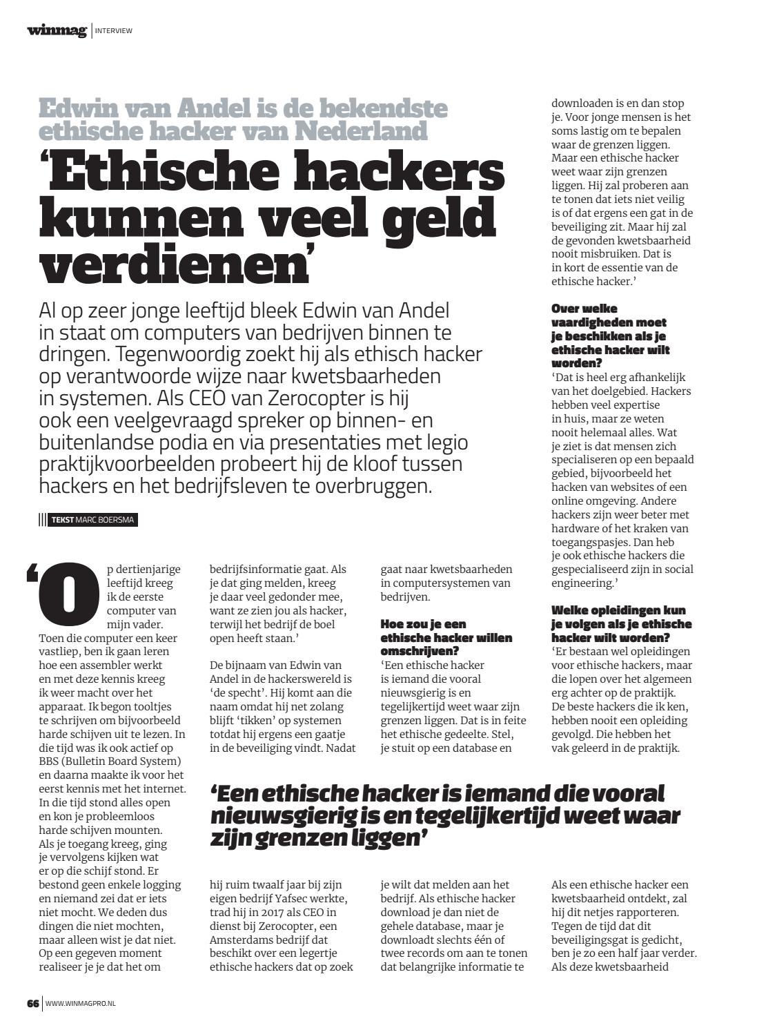 Ethische Hackers Kunnen Veel Geld Verdienen Winmag Pro