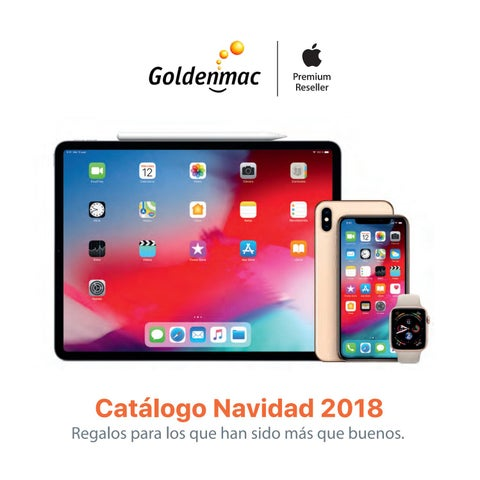 18a989436b8 Catálogo Navidad 2018 - Goldenmac Apple Premium Reseller by ...