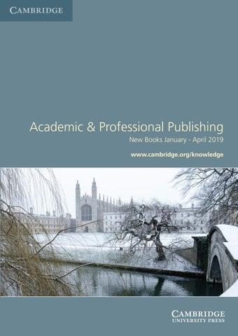 Academic & Professional Publishing by Cambridge University Press - issuu