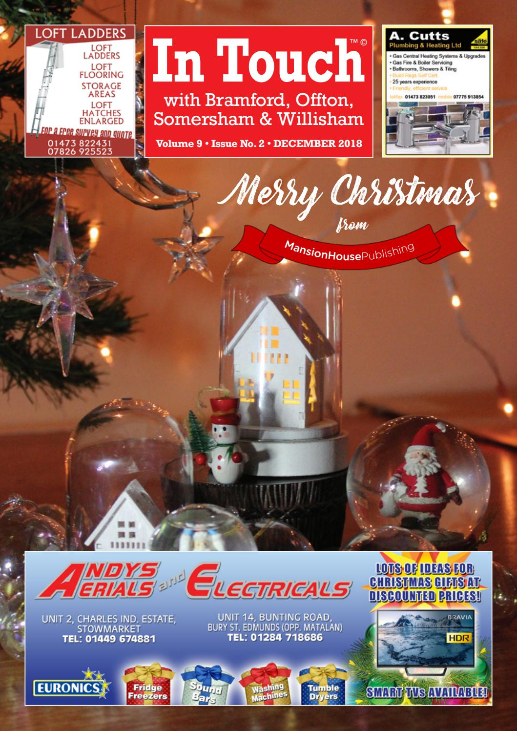 In Touch News with Brantham December 2018 by Mansion House Publishing -  issuu