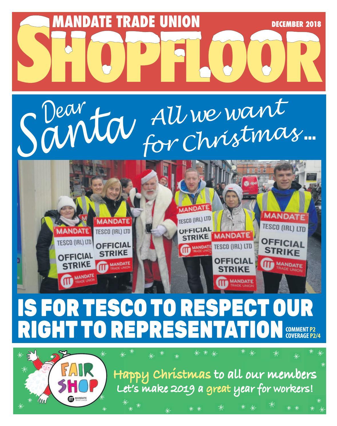Shopfloor December 2018 By Mandate Issuu