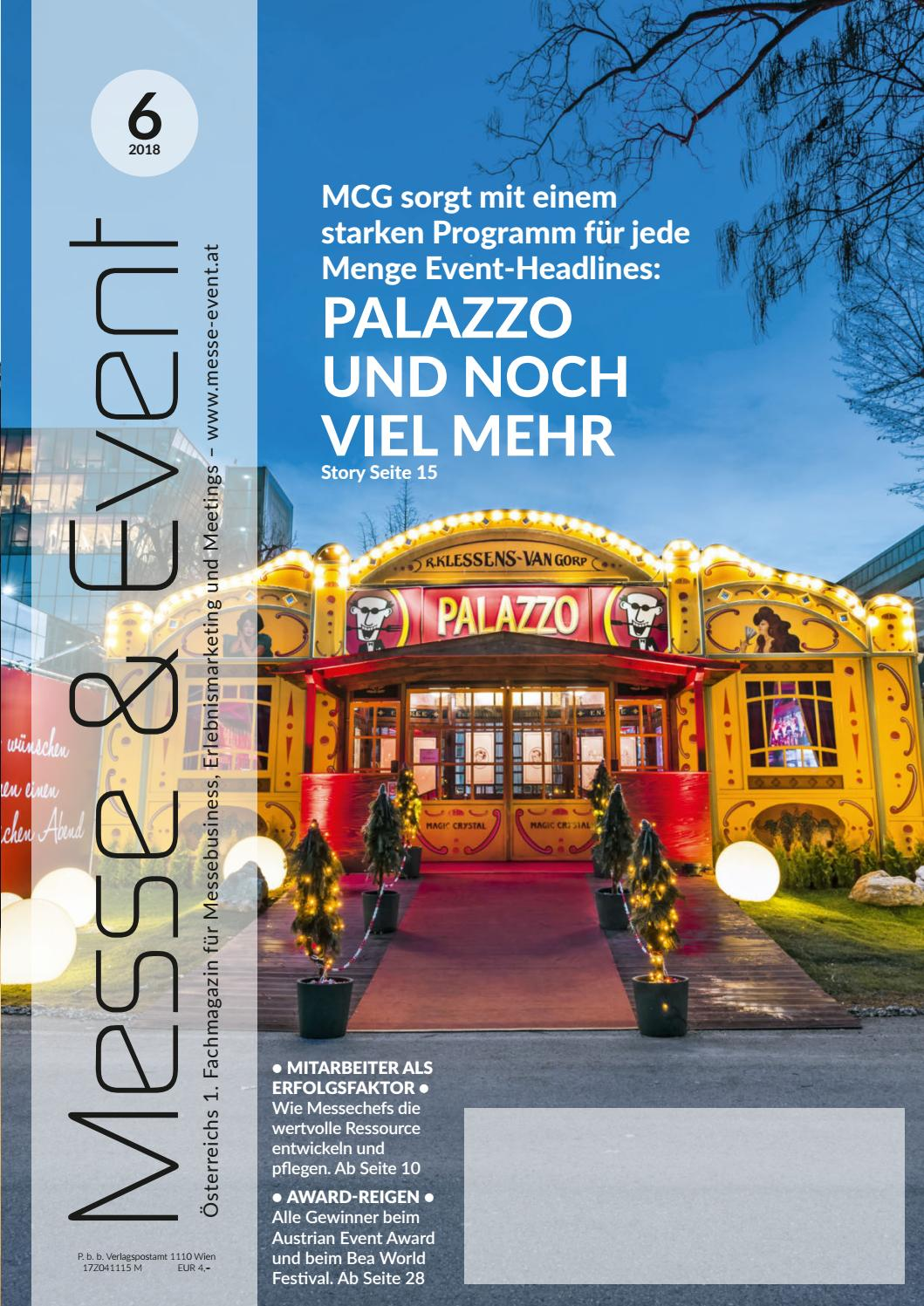 Messe & Event 62018 by Messe & Event Magazin issuu