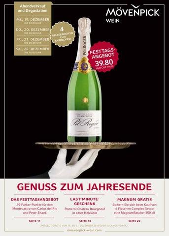 Genuss Zum Jahresende By Mvenpick Schweiz AG Division Wein
