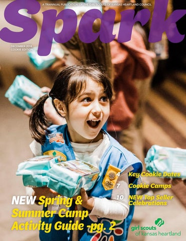 Spark | 12-2018 | COOKIE edition by Girl Scouts of Kansas