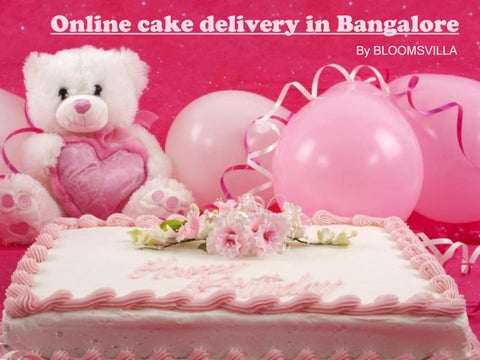 Delicious Cakes Delivery In Bangalore
