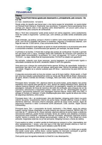 6e443895ddb Clipping Fenabrave 10.12.2018 by MCE Comunicação - issuu