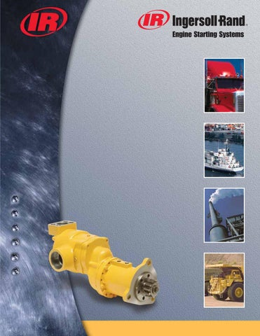 a260e2c3139 Maskin K. Lund / Ingersoll Rand Engine Starting Systems by Maskin K ...