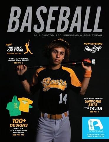 dfd3e39337db 2019 Ares Sportswear Baseball Catalog by Ares Sportswear - issuu