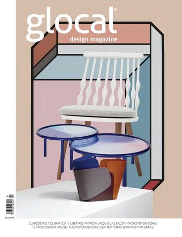 85b2735086d Glocal Design Magazine No. 47 Portada por Cover by Patricia Urquiola ...