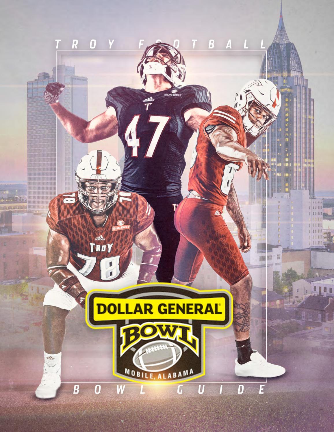 c3f526553 2018 Troy Football - Dollar General Bowl Guide by Troy University Athletics  - issuu