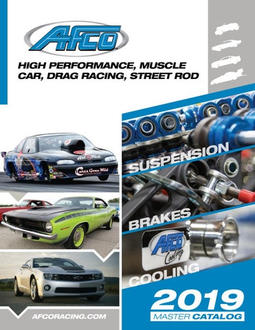 2019 AFCO Drag Catalog by AFCO Performance Group - issuu