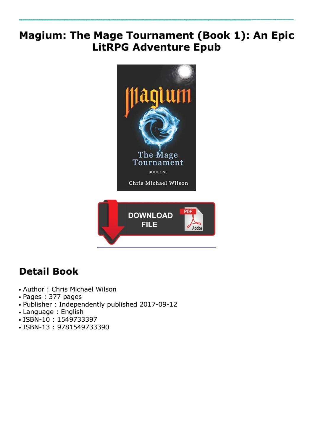Discount Up to 70% -Magium: The Mage Tournament (Book 1): An