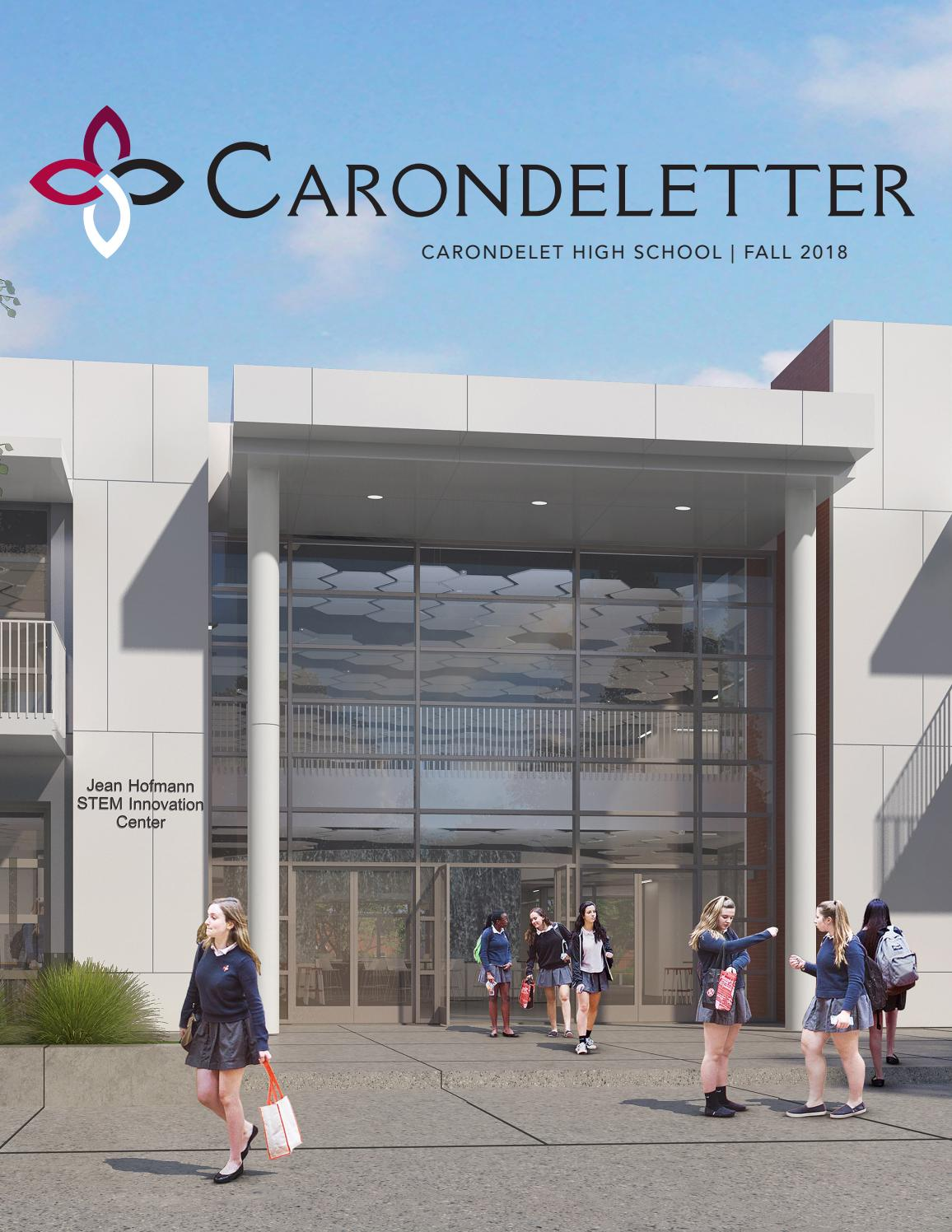 Carondeletter Fall 2018 by Carondelet High School - issuu