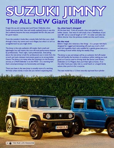 Page 24 of The NEW Suzuki Jimny - Giant Killer