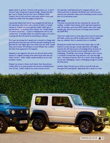 Page 25 of The NEW Suzuki Jimny - Giant Killer