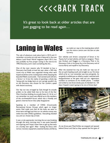 Page 57 of Back Track - Laning in Wales