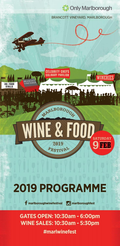 2019 Marlborough Wine and Food Festival Programme