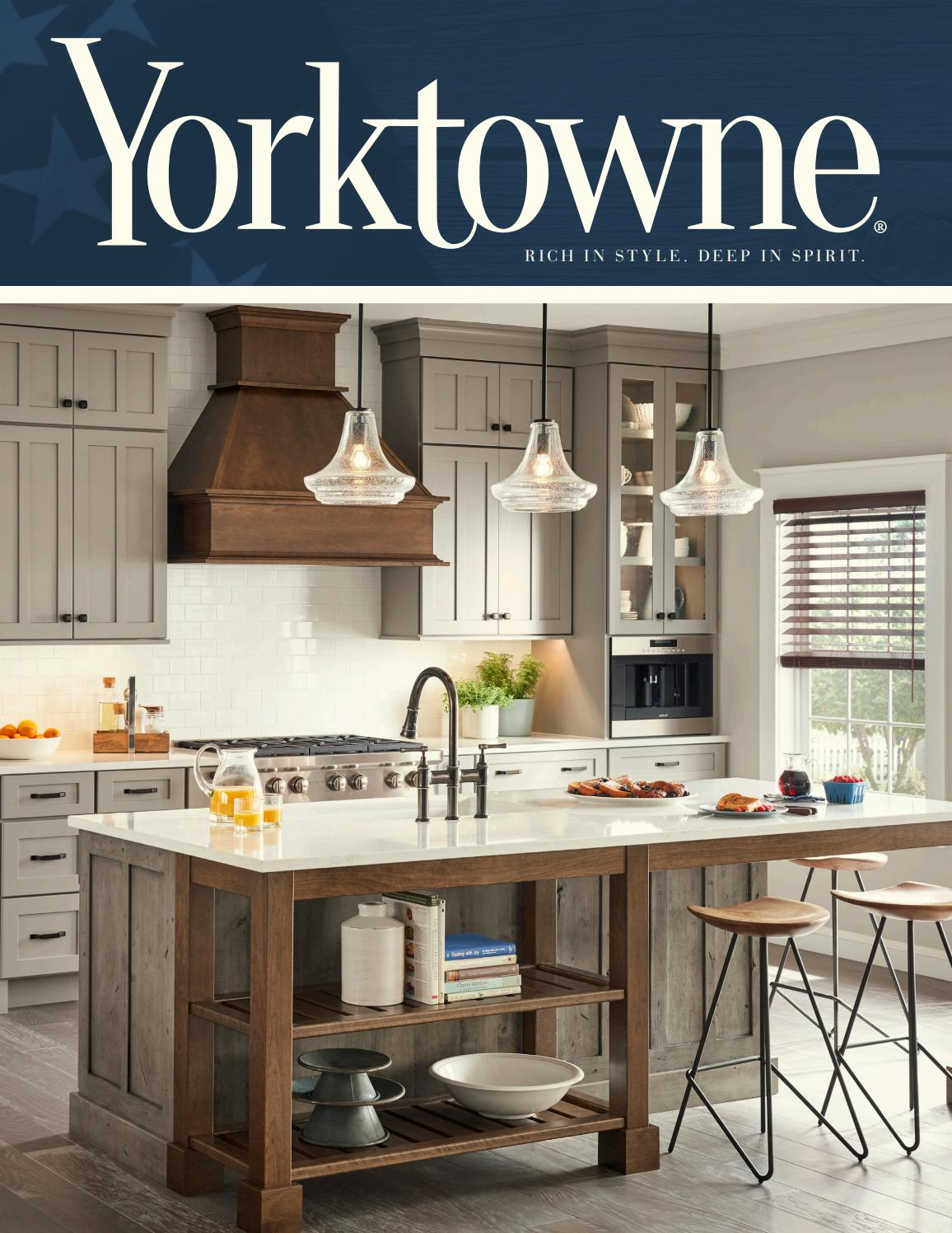Yorktowne Cabinetry 2018 Catalog By Comtek Issuu