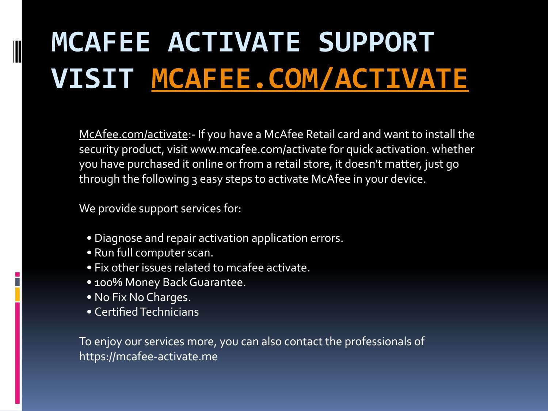 mcafee com/activate-mcafee livesafe 25 digit activation code