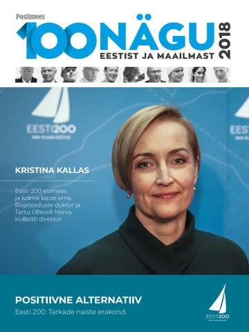 25c96673a9e 100 nägu Eestist ja maailmast 2018 by Postimees - issuu