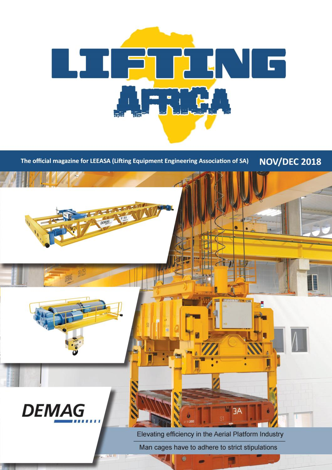 Lifting Africa Nov-Dec 2018 by Lifting Africa - issuu