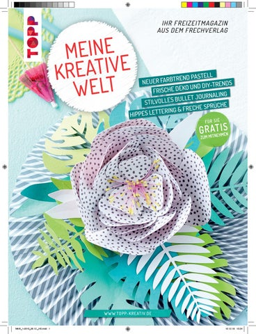 05ede8d6e6 Meine kreative Welt 1/2019 by TOPP, TOPP Lab & Busse-Seewald vom ...