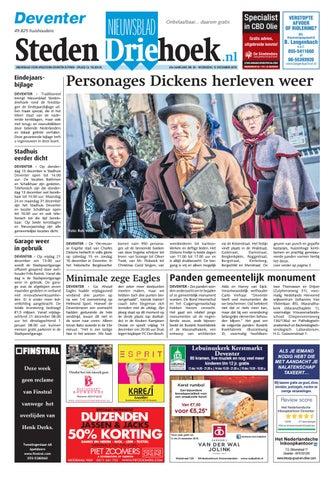 Nieuwsblad Stedendriehoek Deventer wk50 2018 by Uitgeverij