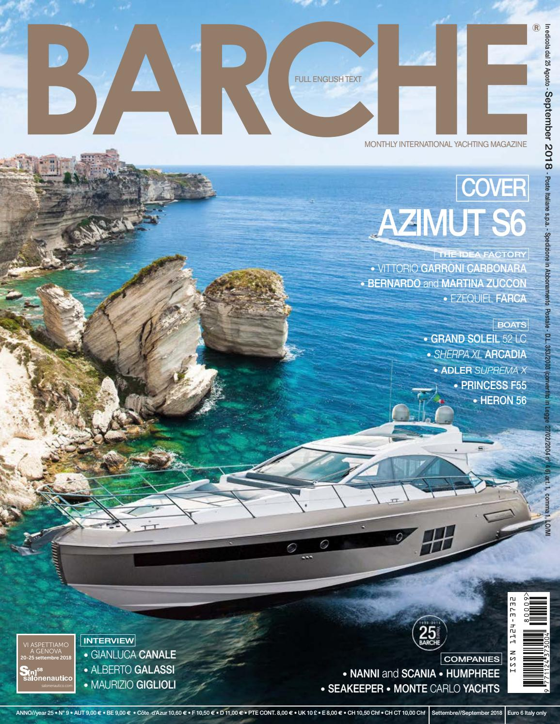September Srl By International Barche 2018 Press Issuu Sea qUzpjLSVGM