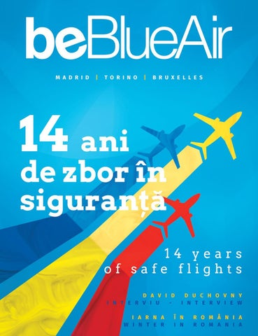 Beblueair Inflight Magazine Romania No 48 Dec 2018 Jan 2019