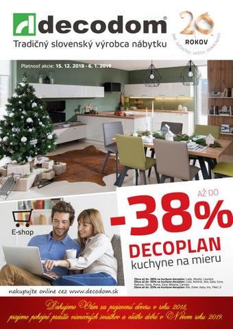 ae3ebca1699c Tradičný slovenský výrobca nábytku Platnosť akcie  15. 12. 2018 - 6. 1. 2019
