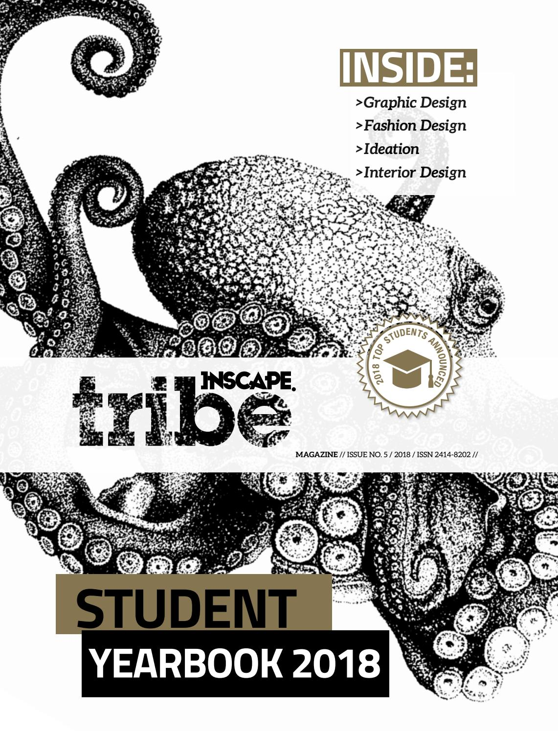 INSCAPE TRIBE MAGAZINE 2018 STUDENT YEAR BOOK by MA