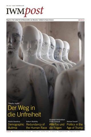 2a8188676311 IWMpost 122 by Institut für die Wissenschaften vom Menschen - issuu