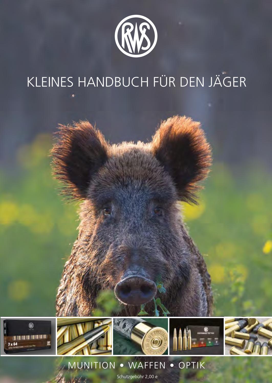 rws: kleines handbuch für den jäger 2018 by ruag ammotec - marken